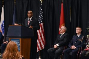NDISAC Keynote at GW Veterans Day Ceremony